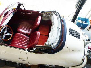 1961 356 Porsche Cabriolet photo