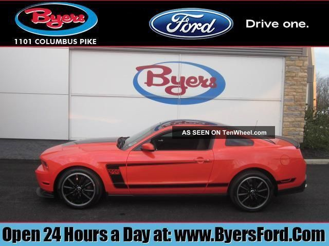 2012 Mustang Boss 302 In Competition Orange Mustang photo