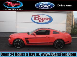2012 Mustang Boss 302 In Competition Orange photo