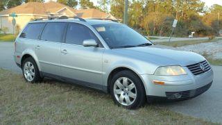 2002 Volkswagen Passat Glx Wagon - Grey Interior - photo