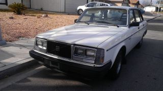 1984 Volvo 244 Dl Sedan 4 - Door 2.  1l (2nd Owner Only Two Owners) photo