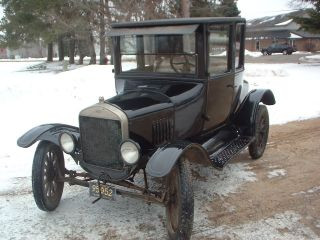 1926 Ford Model T Coupe - All Survivor.  Runs And Drives. photo