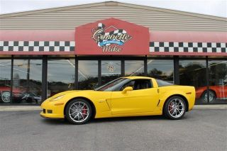 2006 Chevrolet Corvette Z06 Coupe 2lz,  Chrome Spyder Wheels, photo