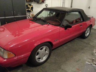 1992 Ford Mustang Lx Convertible 5.  0l Supercharged photo
