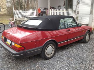 1989 Saab 900 Turbo Convertible 2 - Door 2.  0l photo