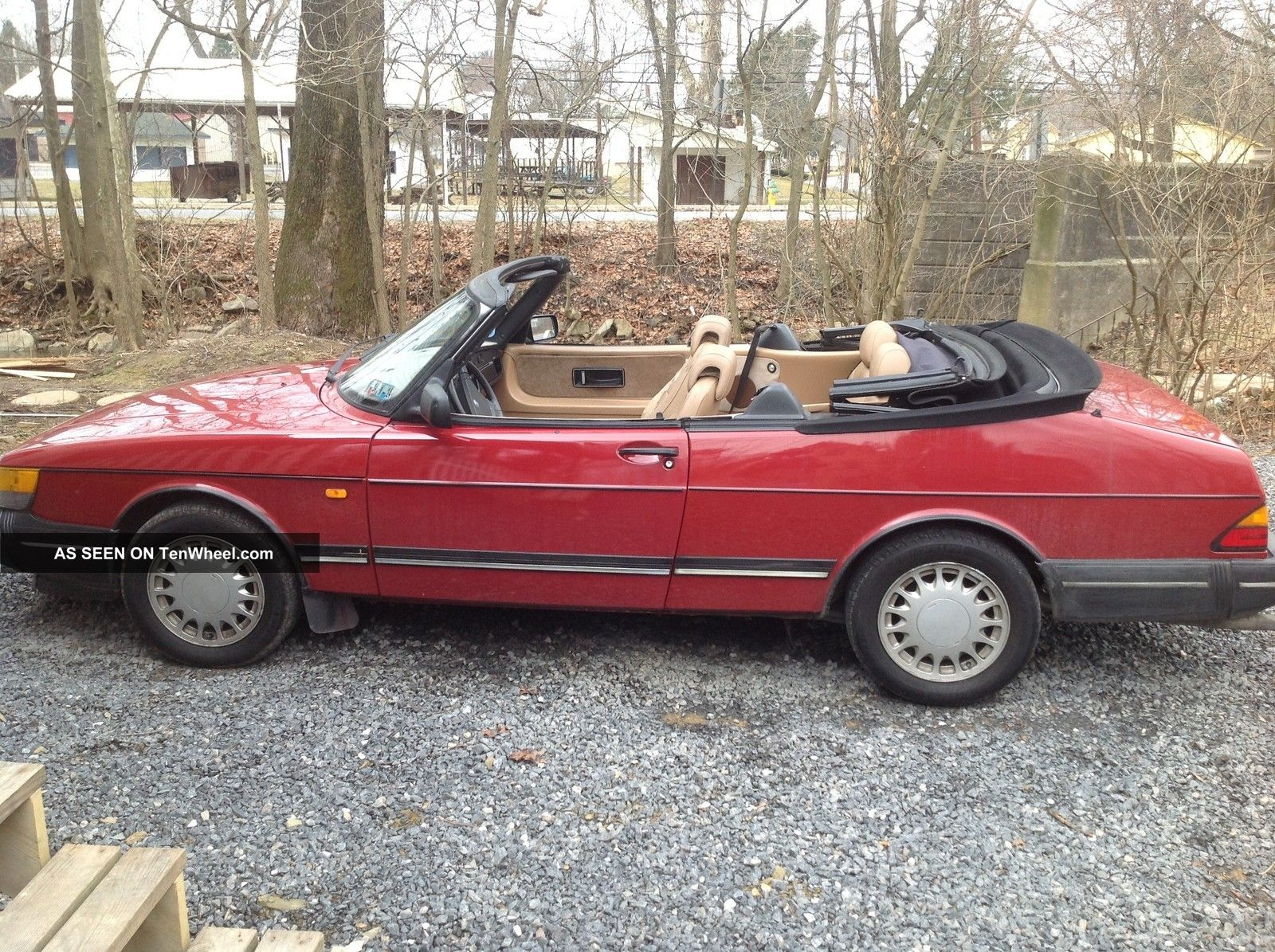 1989 saab 900 turbo convertible 2 door 2 0l. Black Bedroom Furniture Sets. Home Design Ideas