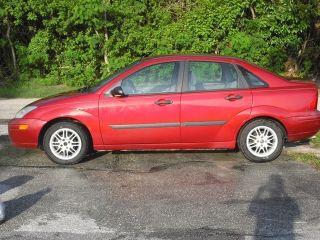 2001 Ford Focus Lx Sedan 4 - Door 2.  0l photo