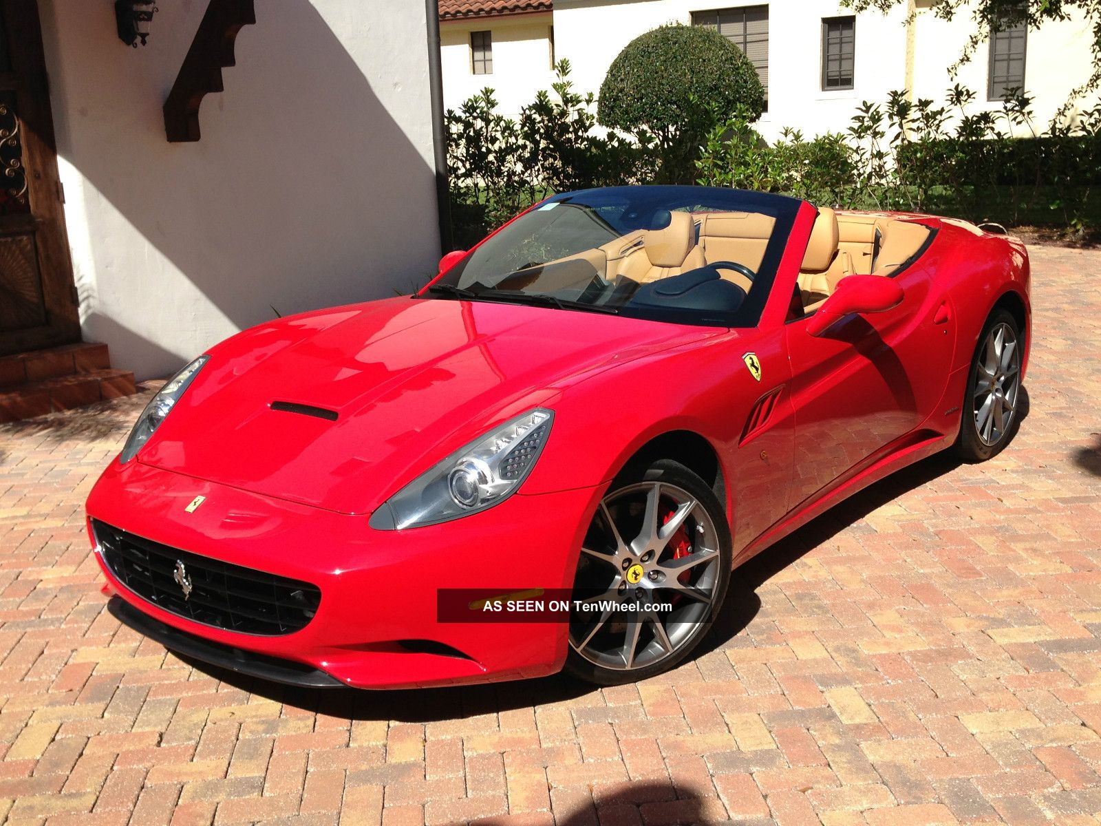 2009 Ferrari California Hard Top Convertible
