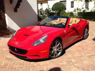2009 Ferrari California (hard Top Convertible) photo