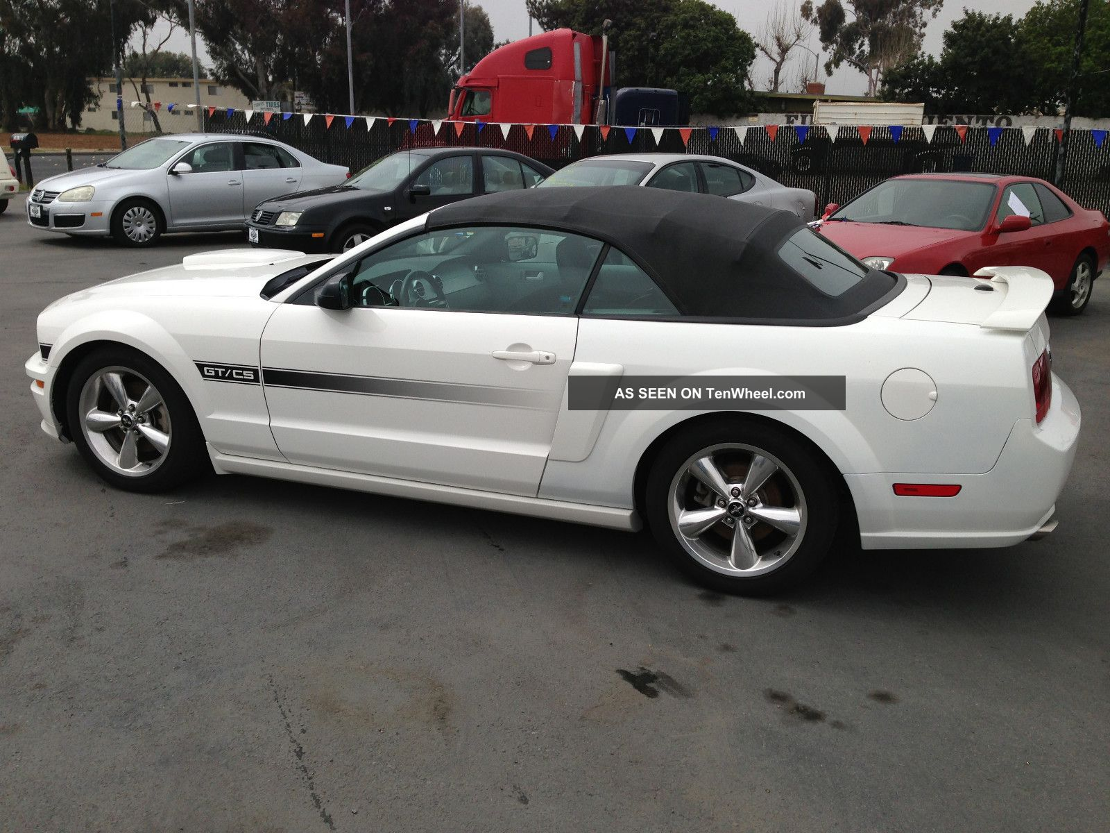 2008 Ford Mustang Gt Convertible California Special