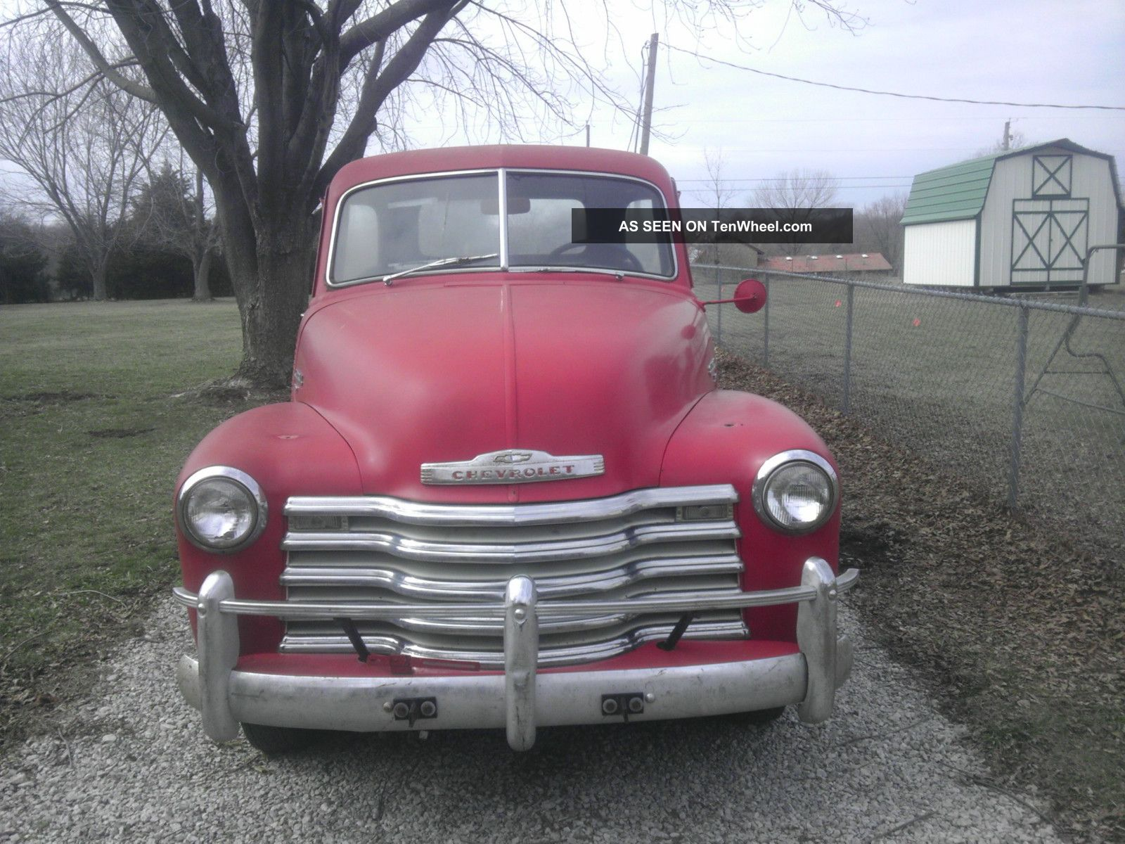 1951 Chevy 3100 5 Window Pickup Truck Other Pickups photo