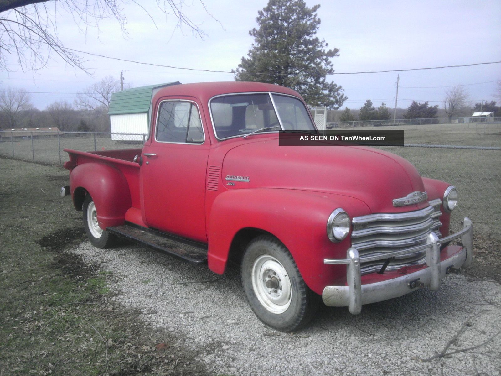 1951 Chevy 3100 5 Window Pickup Truck
