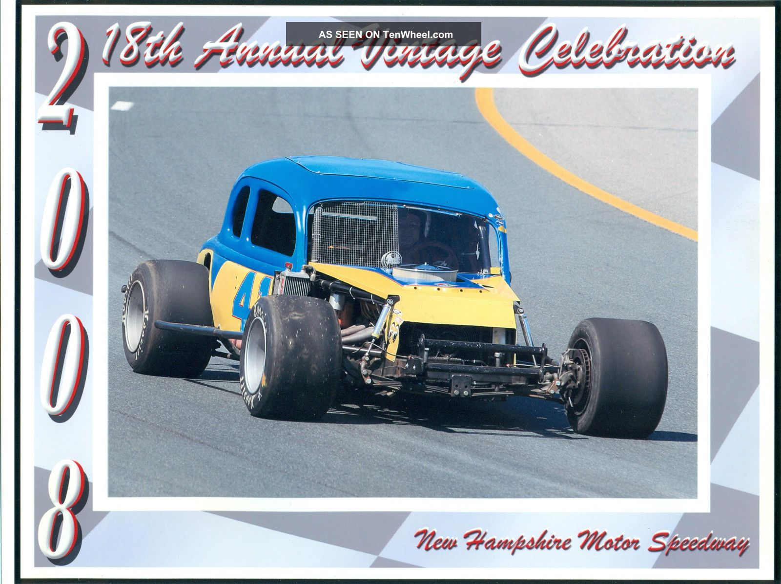 1936 Ford Vintage Antique Race Car 1967 Ford 427fe,  4spd Toploader,  Circle Track Other photo