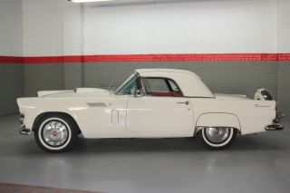 1956 Ford Thunderbird Both Hard And Soft Tops & Continental Kit - Colonial White photo