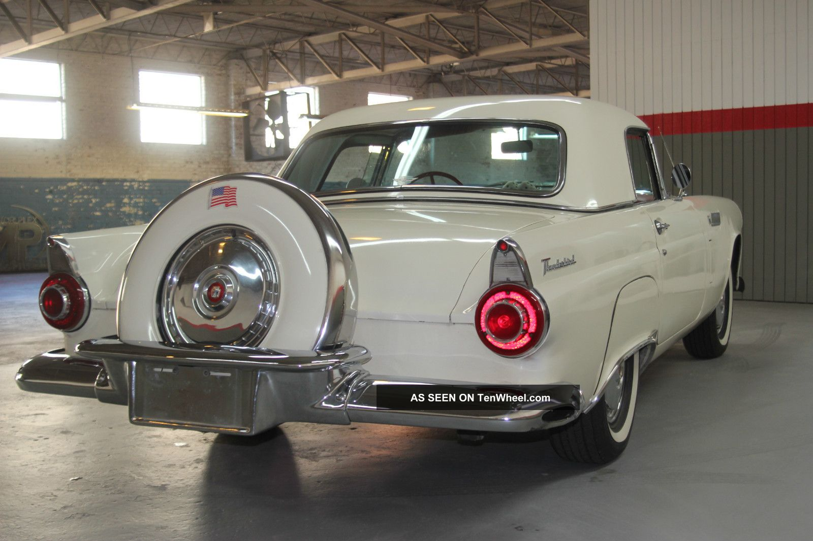 Colonial Buick Gmc >> 1956 Ford Thunderbird Both Hard And Soft Tops ...
