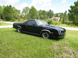 1984 Chevrolet El Camino Ss Standard Cab Pickup 2 - Door 5.  0l photo