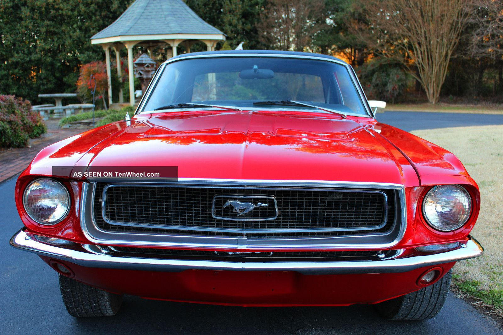 Mustang Great Candy Apple Red Paint No Rust Problems Lgw on Ford 4 6 Engine Problems