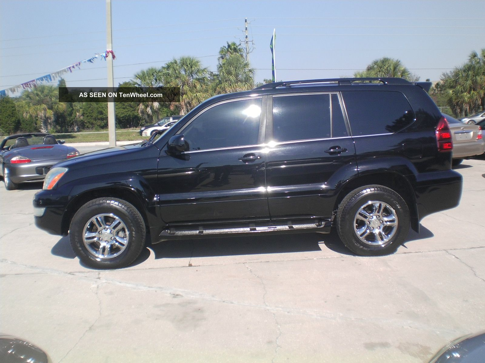 2004 lexus gx 470 4wd florida vehicle loaded flawless. Black Bedroom Furniture Sets. Home Design Ideas