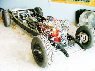 1932 Ford Rolling,  Driving Chassis,  Street Rod Frame photo