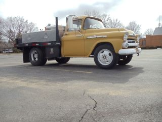 1958 Chevy 1 Ton Dually 3800 Work / Shop Truck photo