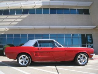 1967 Ford Mustang 289 V - 8 Disc Brakes C - Code photo