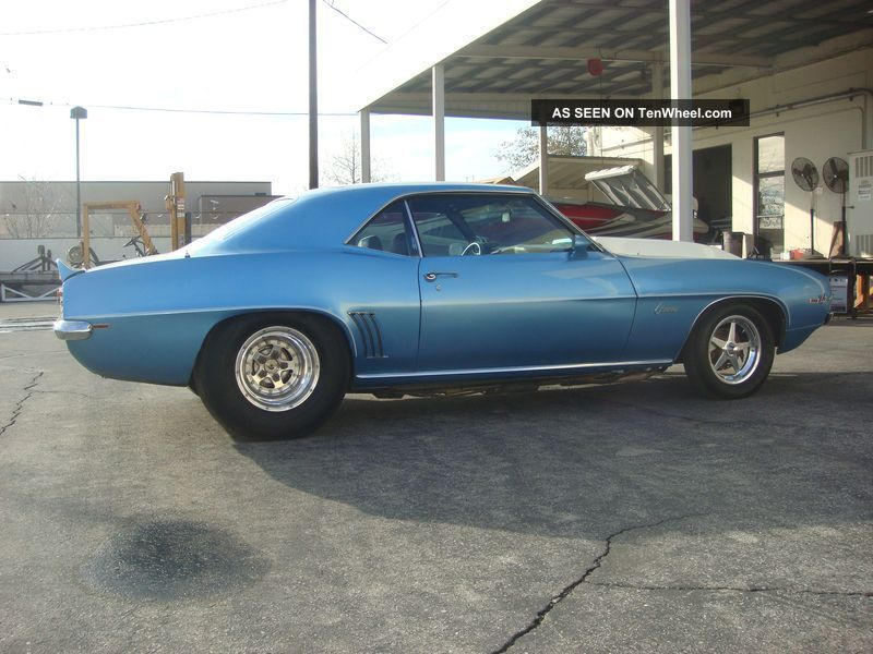 1969 Camaro Drag Race Car