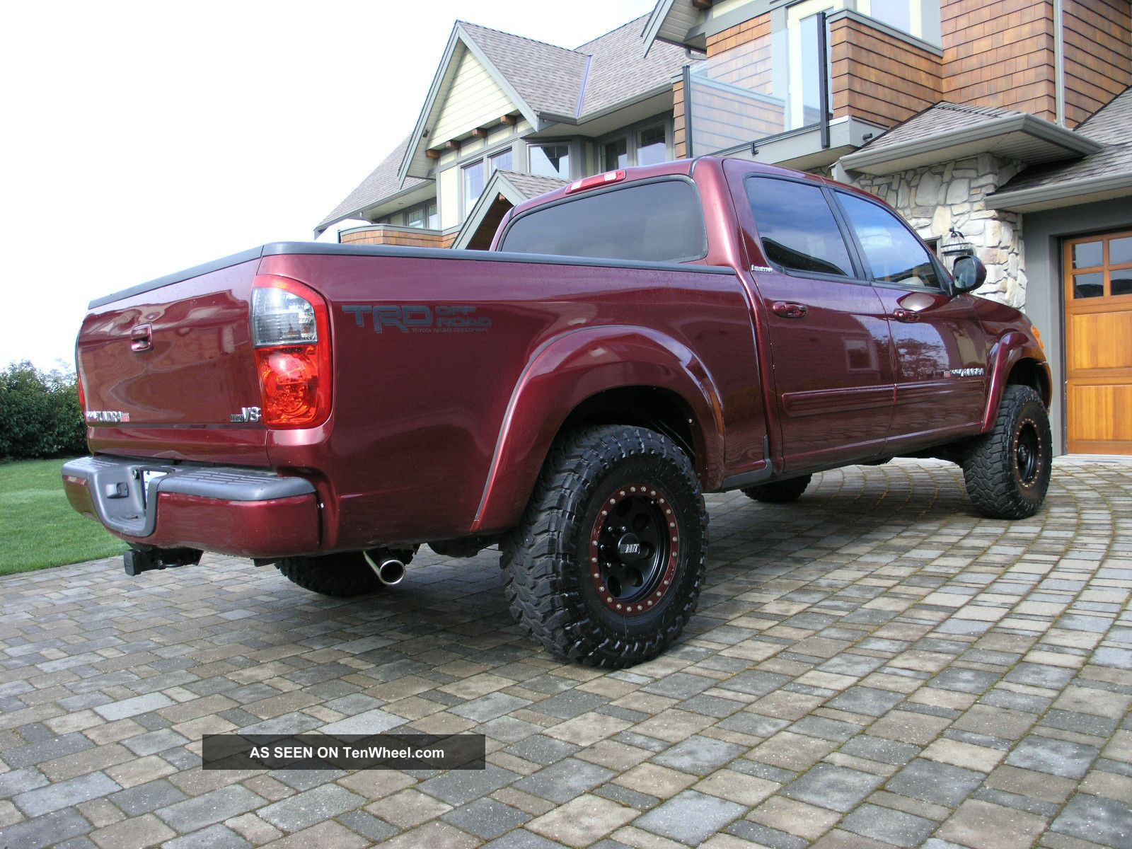 2004 Tundra Double Cab Limited 4x4 Trd Custom Lift Toyota Lifted
