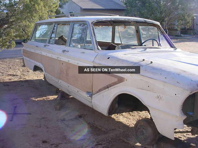 1963 Fairlane Squair Wagon Factory Bucket Seat Car Fairlane photo