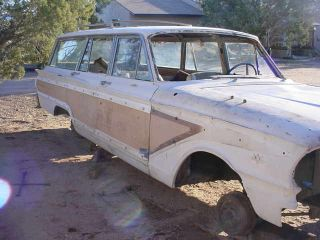 1963 Fairlane Squair Wagon Factory Bucket Seat Car photo