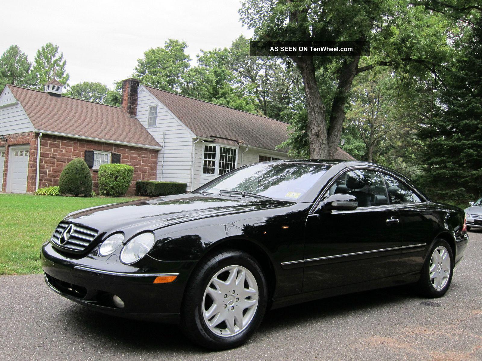 Mercedes benz cl500 2001 prior minor damage for Mercedes benz cl500