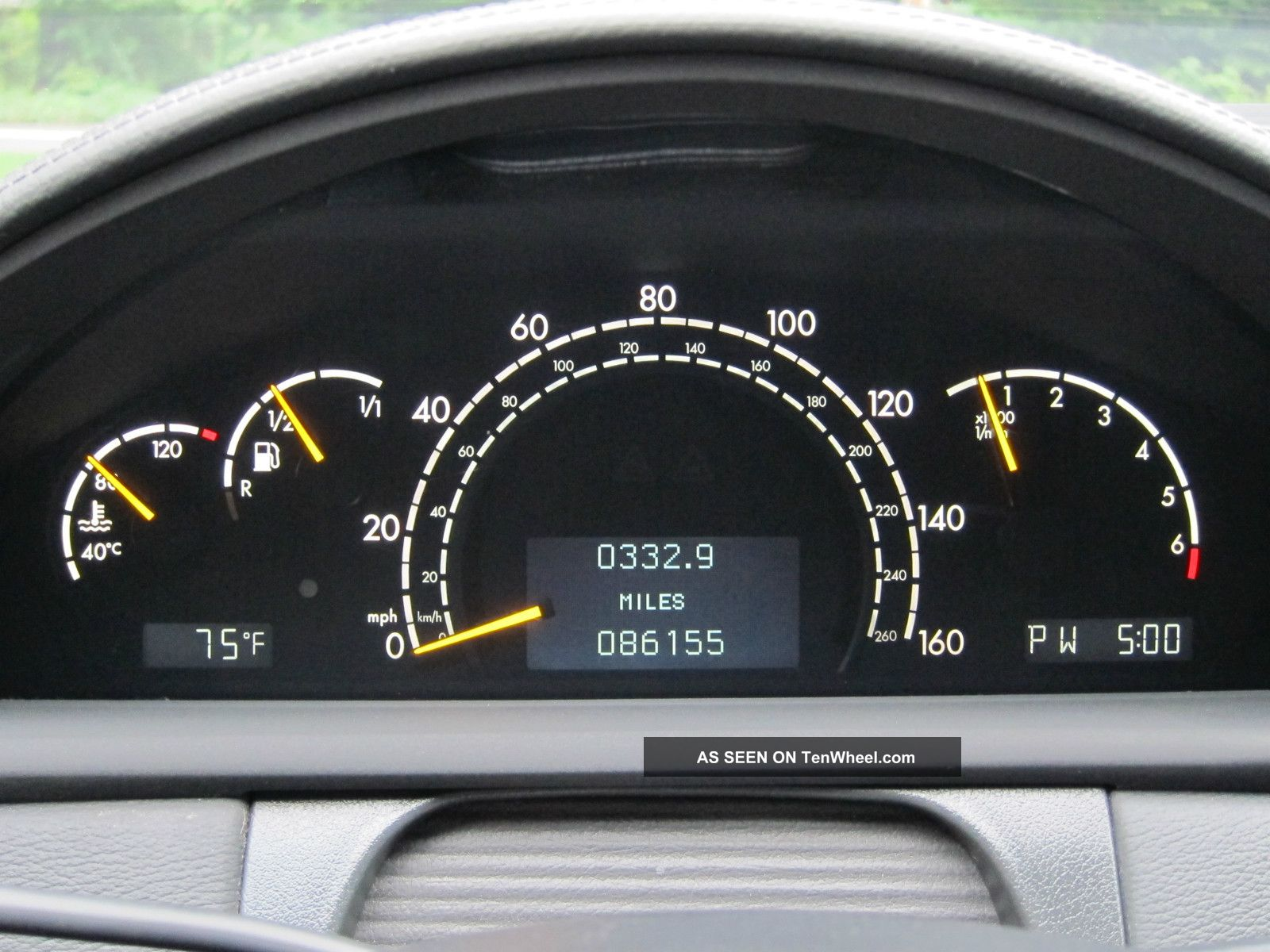 2001 Mercedes Benz Cl500 Mercedes Benz Cl500 2001