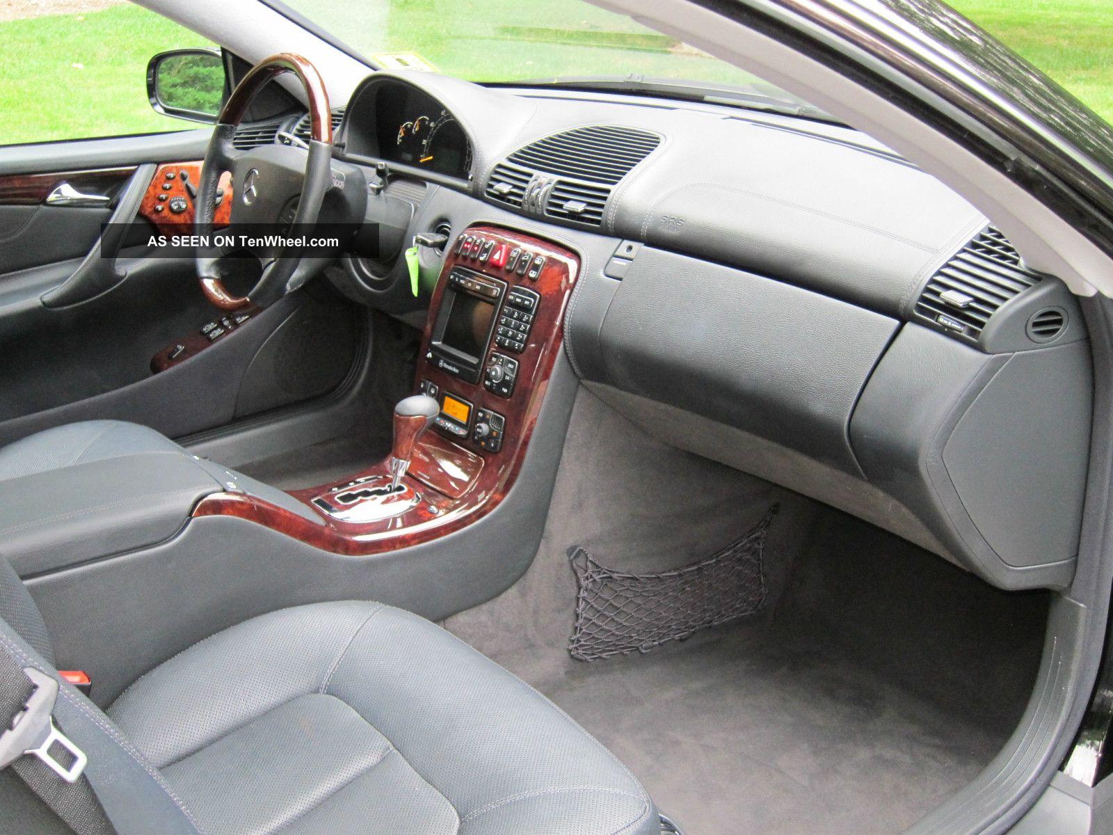 Mercedes Benz Cl500 Interior Mercedes Benz Cl500 2001