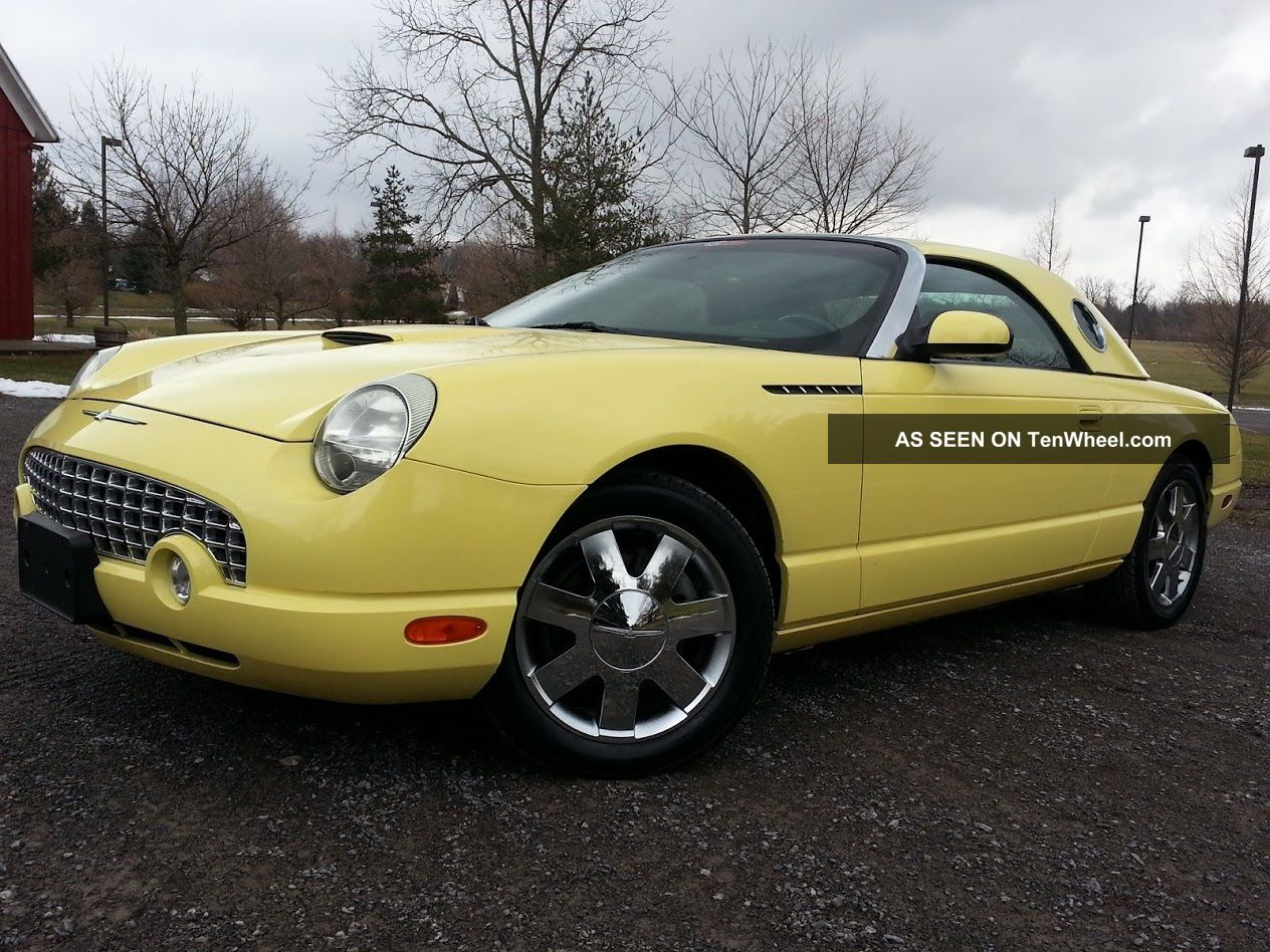 2002 ford thunderbird premium. Cars Review. Best American Auto & Cars Review