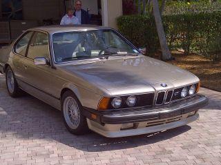 1987 Bmw 635csi Base Coupe 2 - Door 3.  5l photo
