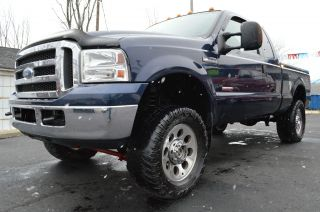 2005 Ford F - 350 Duty Xlt Extended Cab Pickup 4 - Door 6.  0l Diesel 4x4 Lifted photo