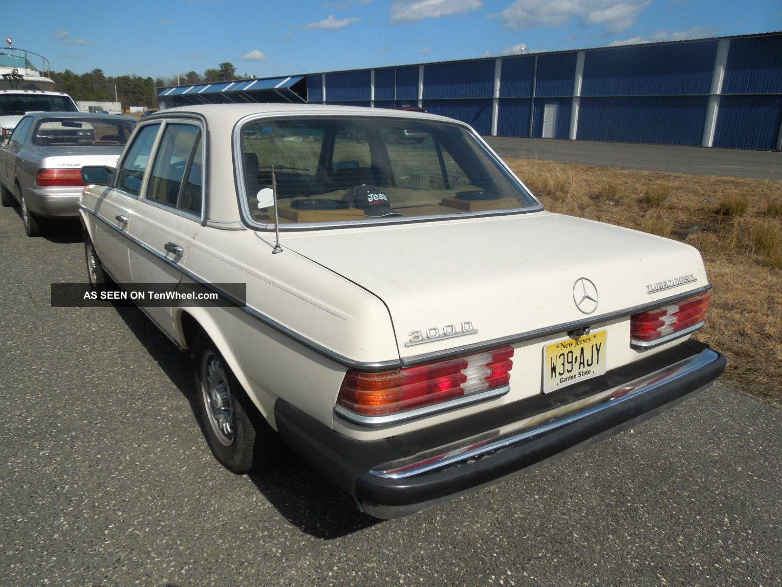 1983 mercedes benz 300d turbo diesel automatic rust for Mercedes benz 300d