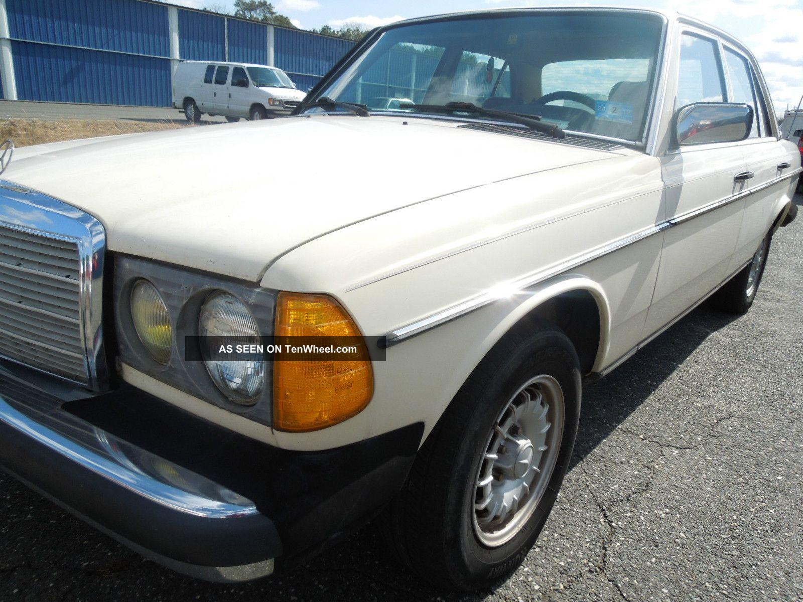 1983 mercedes benz 300d turbo diesel automatic rust for Mercedes benz turbo diesel