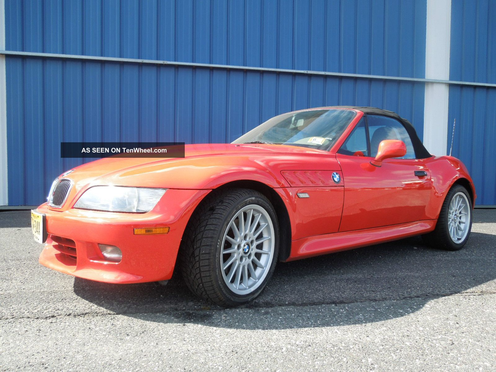2001 Bmw Z3 Roadster Convertible 2 Door 3 0l