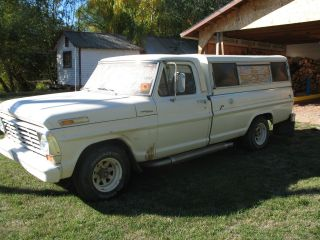 1967 Ford F - 100 Camper Special photo