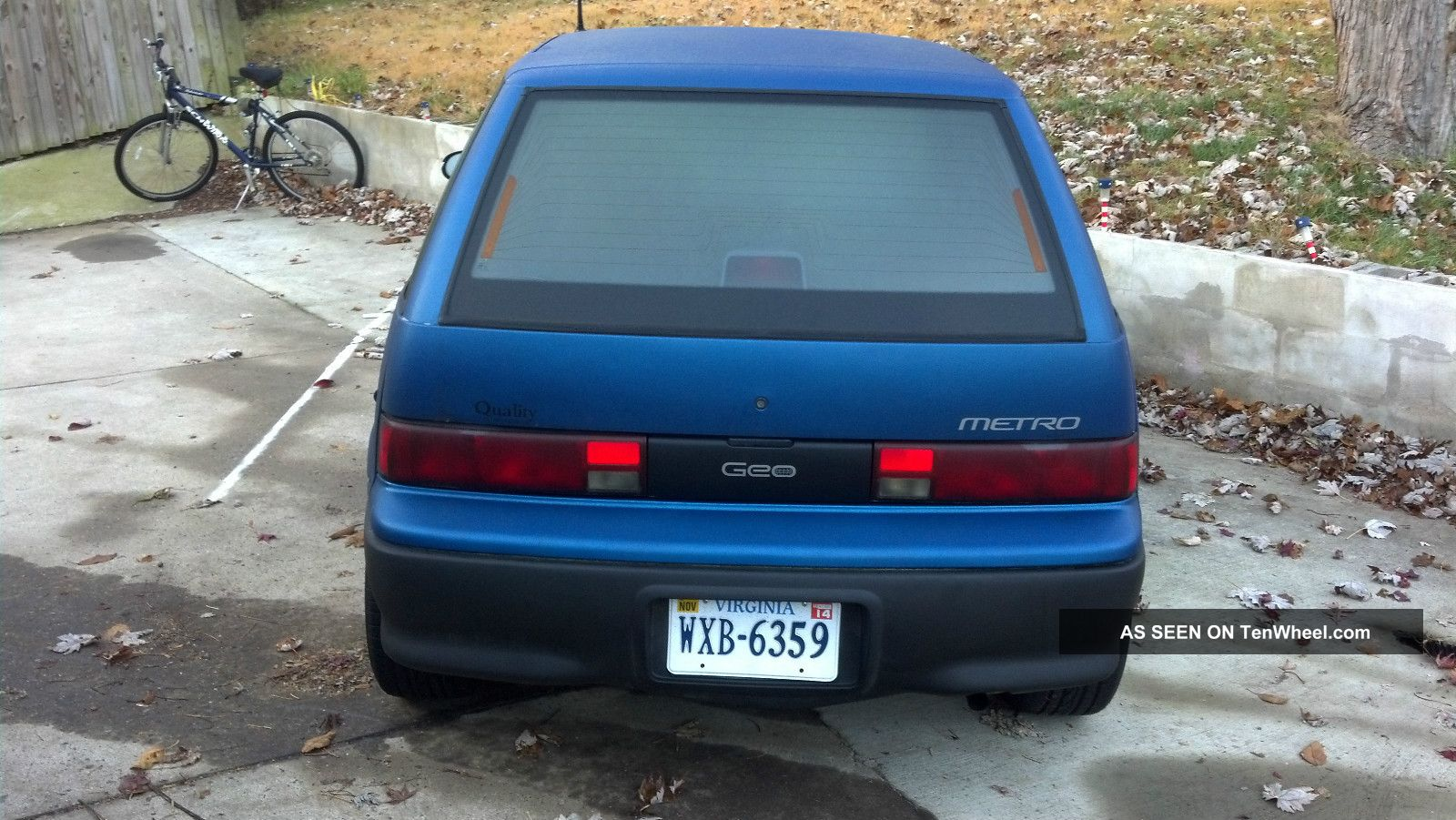 1994 Geo Metro Base Hatchback 4 Door 1 0l Fuse Box