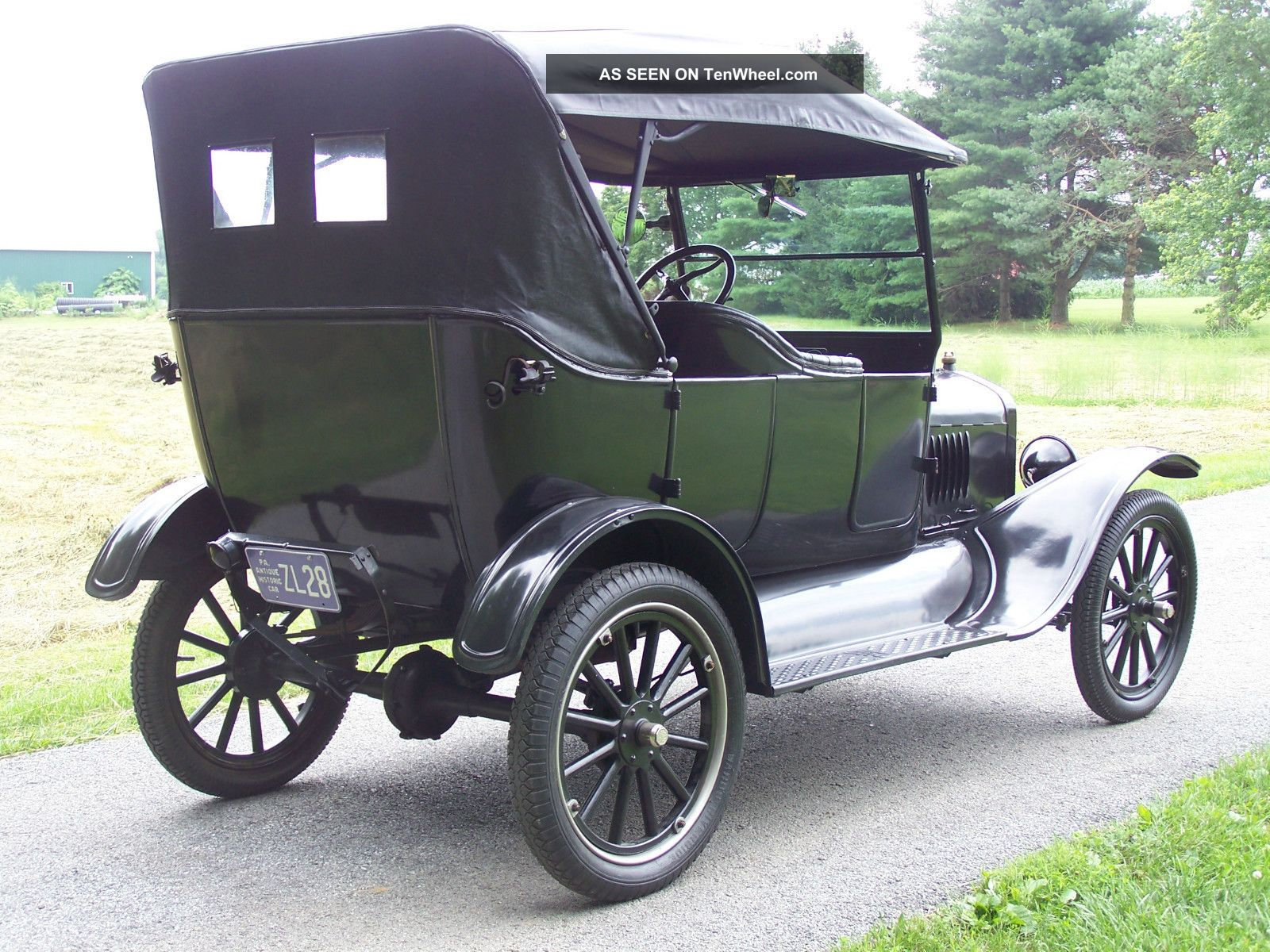 Model T Car: 1923 Ford Model T Touring Car