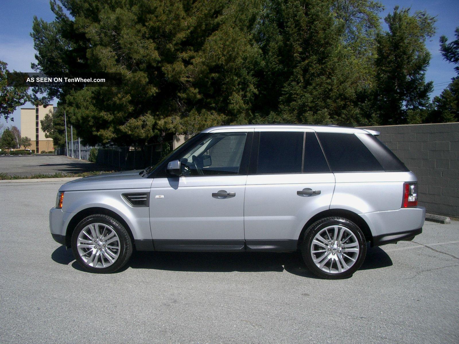 2010 Land Rover Range Rover Sport Hse Sport 5.  0l Luxury Interior Package 38k Mi Range Rover Sport photo
