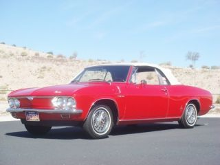 1966 Chevy Corvair Monza Convertible photo