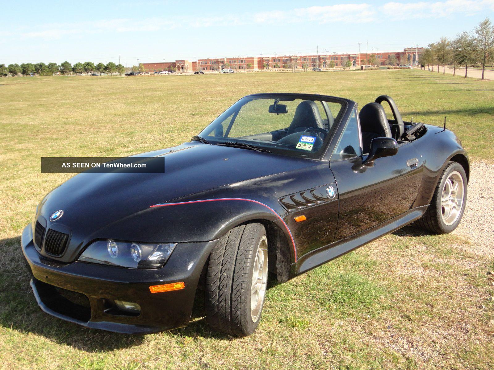 1999 Bmw Z3 Black Manual 5 Speed 6cyl 2 8l Roadster