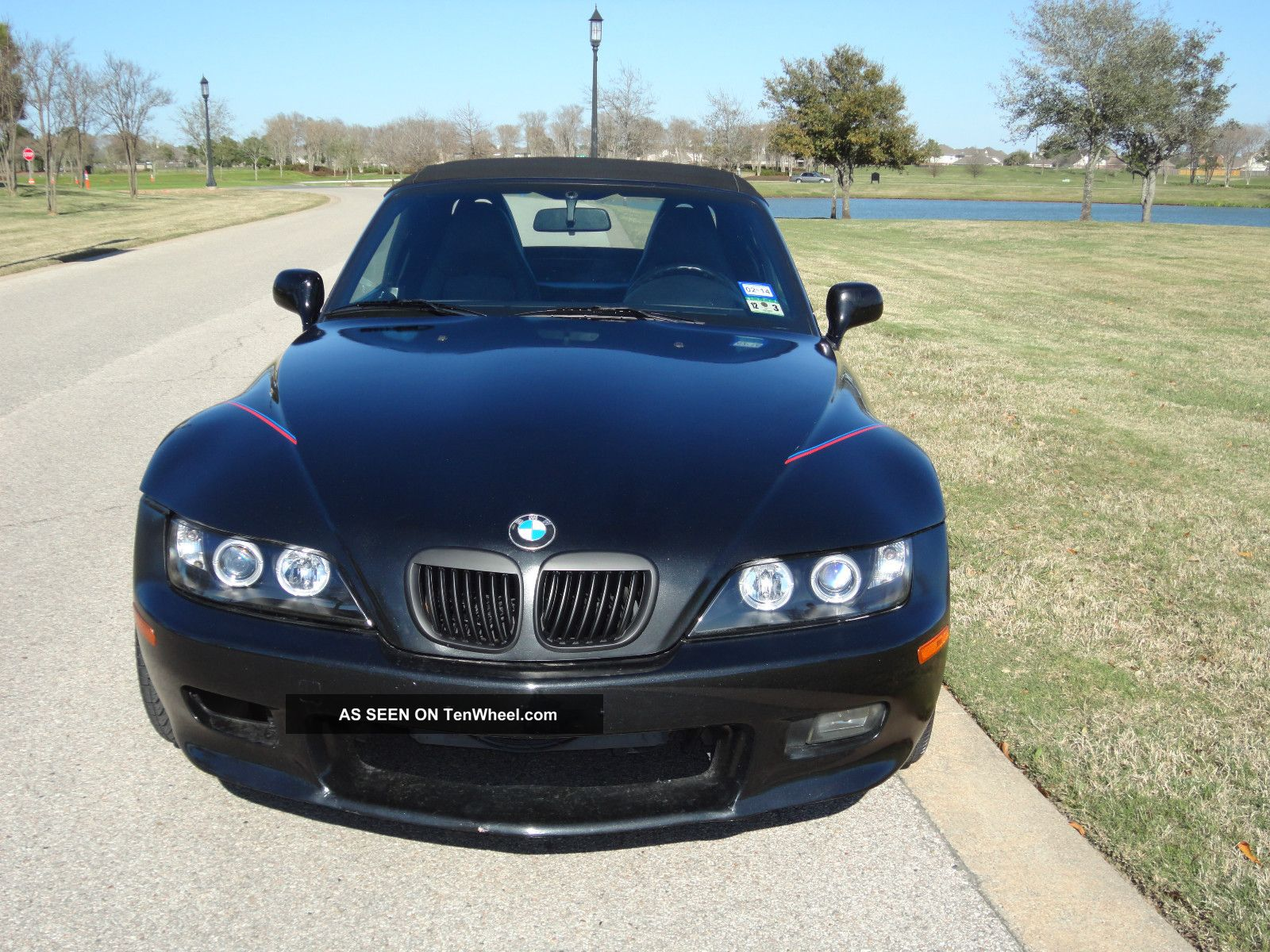 1999 Bmw Z3 Black Manual 5 Speed 6cyl 2 8l Roadster