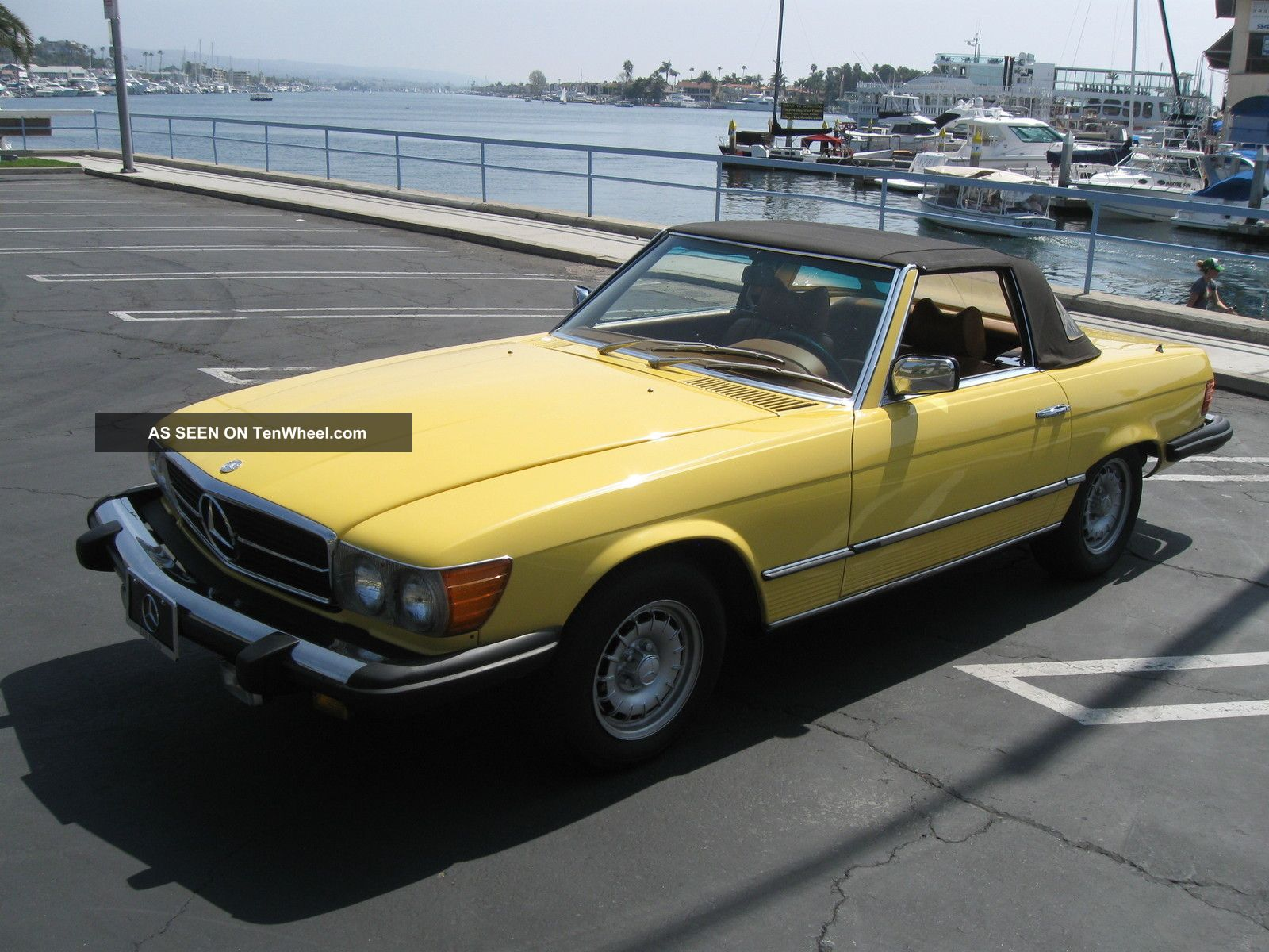 1977 Mercedes 450sl Convertible Immaculate Condition
