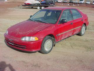 1993 Honda Civic Lx Sedan 4 - Door 1.  5l photo