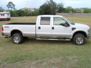 F350 F - 350 2008 4x4 Lariat All Power,  All,  Line - X Bed photo