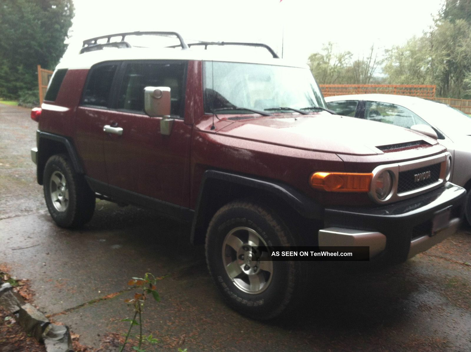 2008 toyota fj cruiser suv manual 4wd. Black Bedroom Furniture Sets. Home Design Ideas