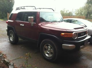 2008 Toyota Fj Cruiser Suv -,  - Manual - 4wd photo